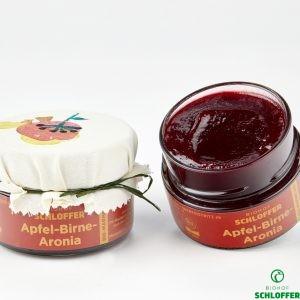 Marmelade Apfel-Birne-Aronia
