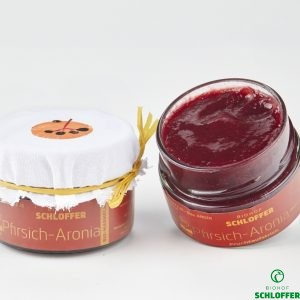 Marmelade Pfirsich-Aronia